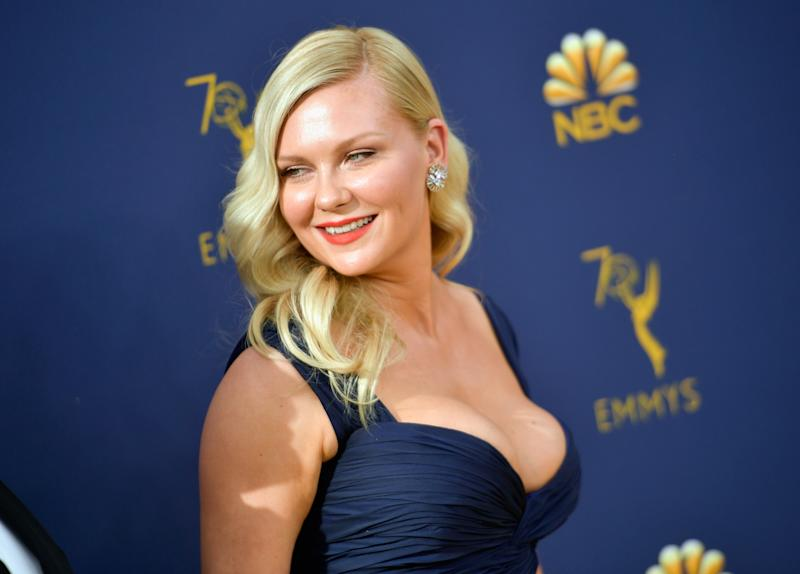 Kirsten Dunst attends the 70th Emmy Awards on September 17, 2018 in Los Angeles, California. (Photo by Matt Winkelmeyer/Getty Images)