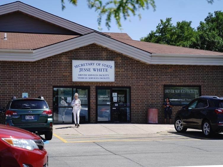 The Joliet drivers services facility is temporarily closed due to coronavirus.