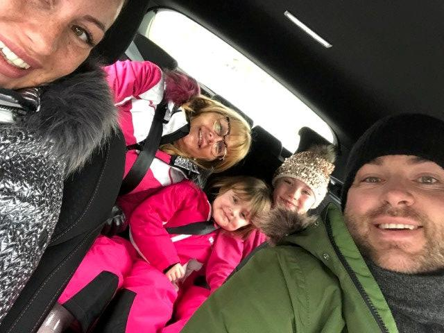 The Walker family were due to fly to Switzerland on an EasyJet for a skiing holiday. (SWNS)