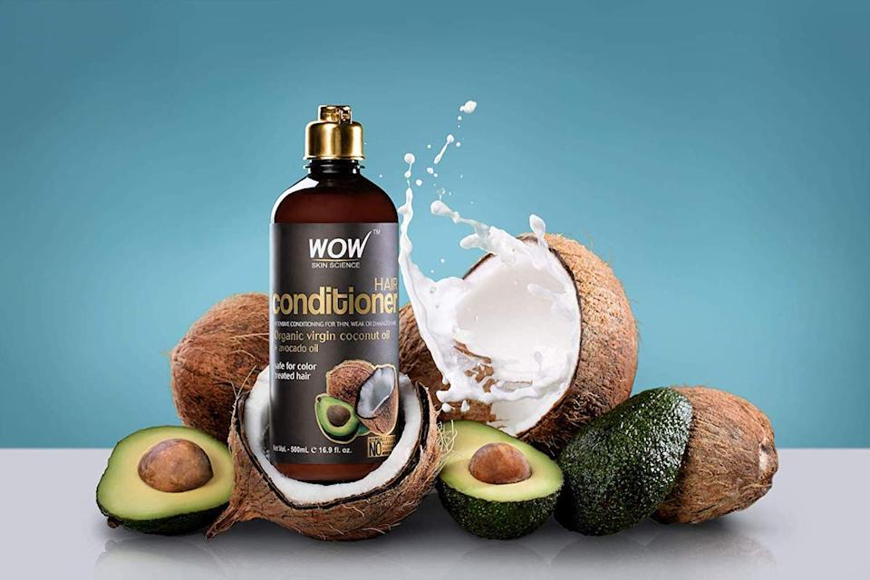 Healthy natural fats restore moisture to hair. (Photo: Amazon)