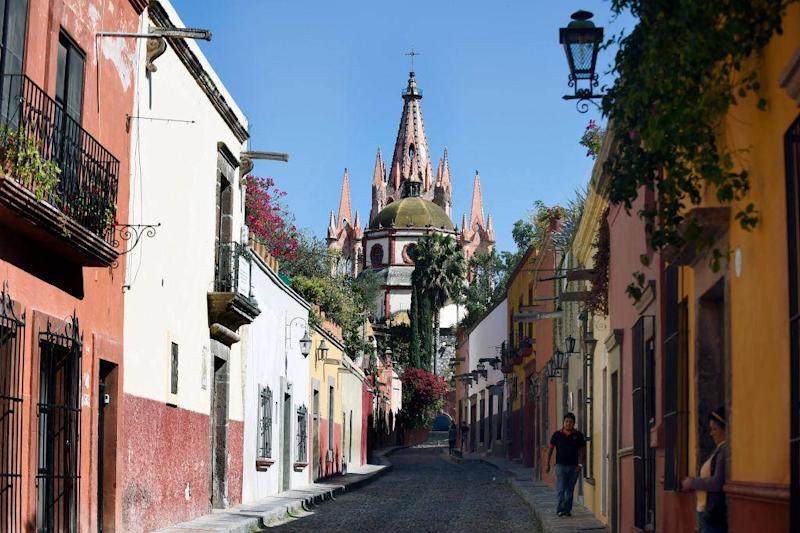 San Miguel de Allende, where many retired US citizens live (AFP/Getty)