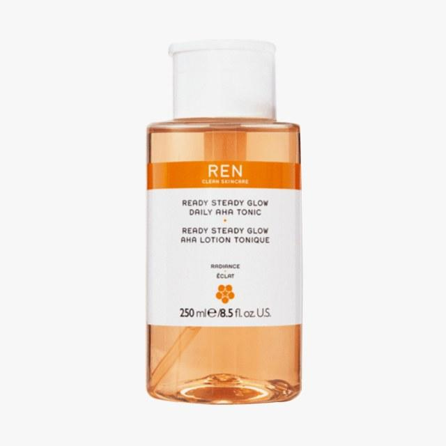 REN Clean Skincare Ready Steady Glow Daily AHA Tonic, $35, sephora.com