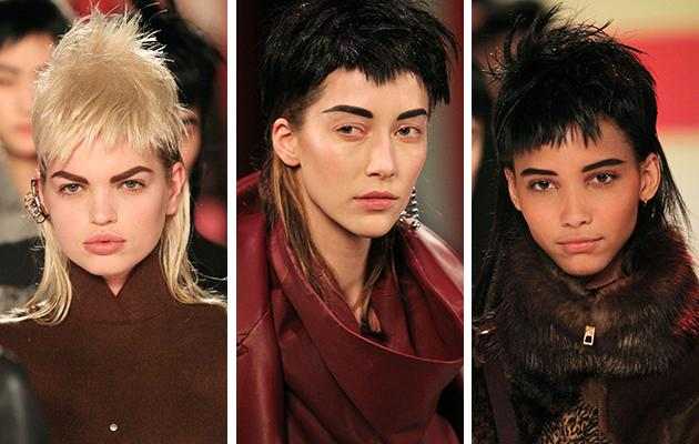At the spring 2013 Paris fashion runway shows, the mullet made its return to the high-fashion scene. French couture designer Jean Paul Gaultier unveiled his latest line, featuring futuristic '80s minimal clothing paired with mullet wigs.