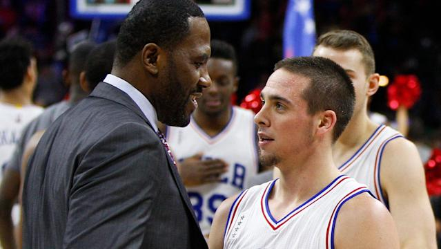 Less than two years after hanging up his high tops, Elton Brand now runs the Philadelphia 76ers.