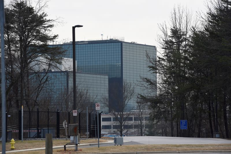 FILE PHOTO: The National Security Agency (NSA) headquarters is seen in Fort Meade, Maryland