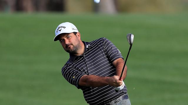 Roberto Diaz twirled a career-best round to lead after day one at the John Deere Classic. (Getty Images)