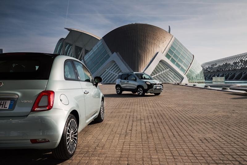 Fiat 500 and Panda mild-hybrid variants