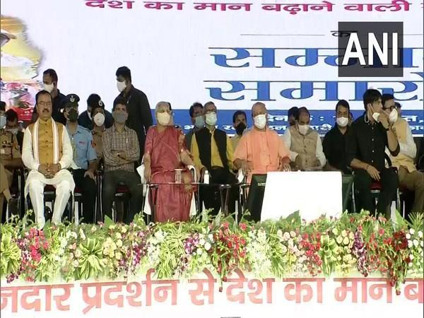visuals from the felicitation ceremony