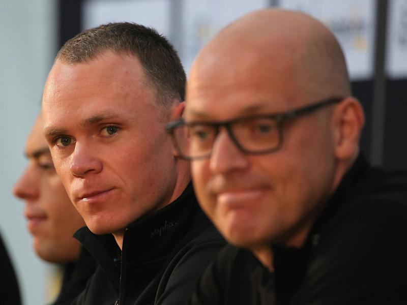 Team Sky asked their riders to publicly support Brailsford: Getty