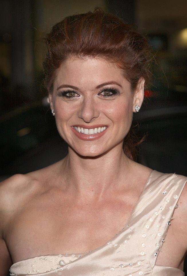 """<a href=""""http://movies.yahoo.com/movie/contributor/1802866877"""">Debra Messing</a> at the Los Angeles premiere of <a href=""""http://movies.yahoo.com/movie/1809991685/info"""">Nothing Like the Holidays</a> - 12/03/2008"""
