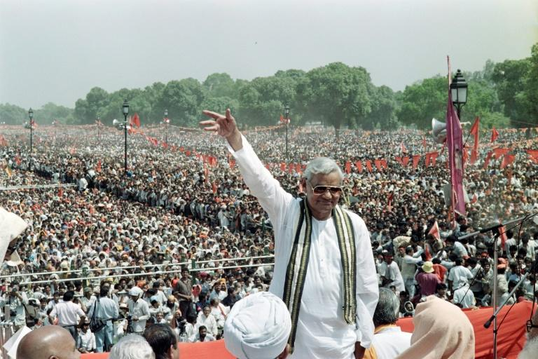 A high-caste Brahmin, Vajpayee was born on Christmas Day in 1924 in the central state of Madhya Pradesh