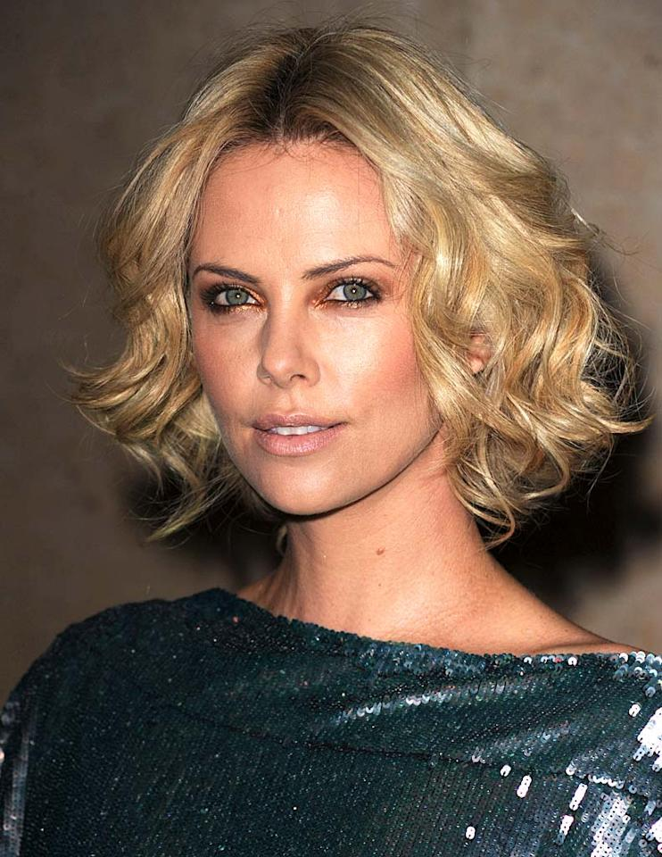 """South African-born bombshell Charlize Theron, 34, possesses the sun-kissed complexion that sun worshipers crave -- minus the wrinkles and lines that usually come along with it. Steve Granitz/<a href=""""http://www.wireimage.com"""" target=""""new"""">WireImage.com</a> - March 27, 2010"""