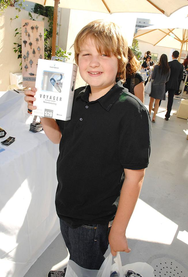 "Even child actors like Angus T. Jones can get in on the swag spree. Amy Graves/<a href=""http://www.wireimage.com"" target=""new"">WireImage.com</a> - September 13, 2007"