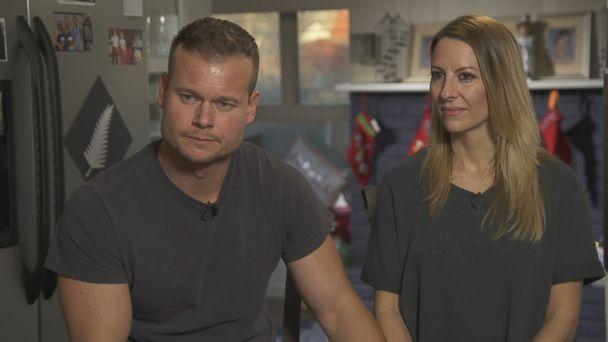 James and Melinda Ray are seen here during an interview with ABC News. (ABC News)