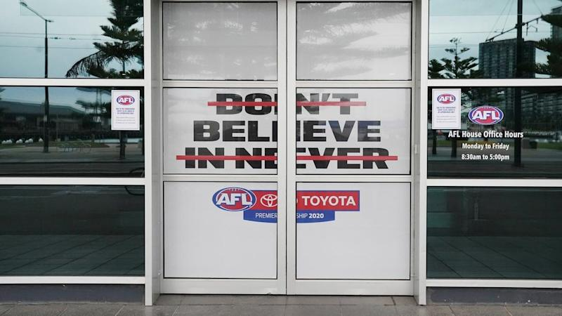 A decision on whether the AFL season will commence as scheduled on Thursday is yet to be made