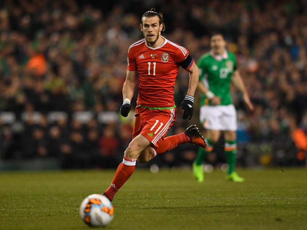 Bale failed to light up the night like he has on so many occasions for Wales (Getty)