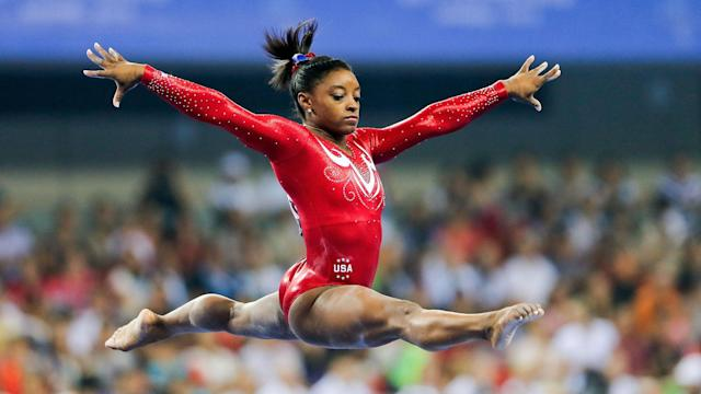 She may be small in stature, but gymnast Simone Biles has all the qualities to be a huge hit at this year's Olympics.