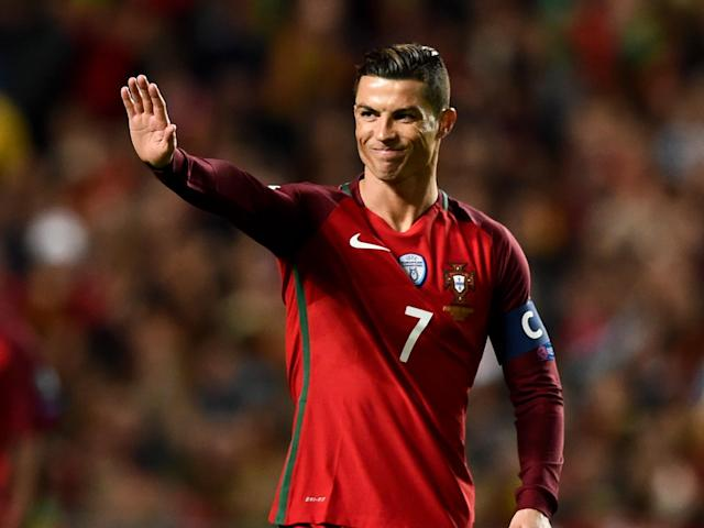 Cristiano Ronaldo is now the fourth-highest European international goalscorer: Getty