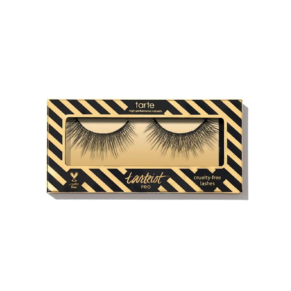 """<p>These lashes are glam with a capital <em>G</em>. Also, a capital <em>L</em> and <em>A</em> and <em>M</em>. Long and full and lush, they're perfect for anytime you want a really sexy, really dramatic effect. """"And they make your eyes look <em>huge</em> in pictures,"""" says Suico, who considers them her go-to lashes for Instagram. The first time you take them out of the box, hold each end between your thumb and forefinger and give them a little wiggle; this will loosen them up so they can really hug your lash lines. You may also want to trim the inner corners so they only extend across about three-quarters of your lids and can't poke your tear ducts (like we said: they're long and full). Coat the strips with the Tarte lash glue, tilt your head back, and press them onto your lash lines, working from the outer corners in. After each use, clean them with makeup remover so you can get more mileage out of the set. (These haven't won a Best of Beauty Award, but the Tarte lash adhesive that's in your box has, and we weren't going to give you glue without lashes to go with it!)</p> <p><strong>Value:</strong> <a rel=""""nofollow noopener"""" href=""""https://www.allure.com/review/tarte-tarteist-pro-girl-boss-false-lashes?mbid=synd_yahoo_rss"""" target=""""_blank"""" data-ylk=""""slk:Tarte Tarteist Pro Girl Boss Lashes"""" class=""""link rapid-noclick-resp"""">Tarte Tarteist Pro Girl Boss Lashes</a>, $12</p> <p><strong>—<a rel=""""nofollow noopener"""" href=""""http://beautybox.allure.com/?source=EDT_ALB_SEPTEMBER_2018_GALLERY_UNBOXING"""" target=""""_blank"""" data-ylk=""""slk:Subscribe Now"""" class=""""link rapid-noclick-resp"""">Subscribe Now</a>—</strong></p>"""