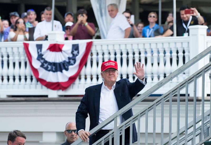 Donald Trump 39 S Trips To His Bedminster Golf Club