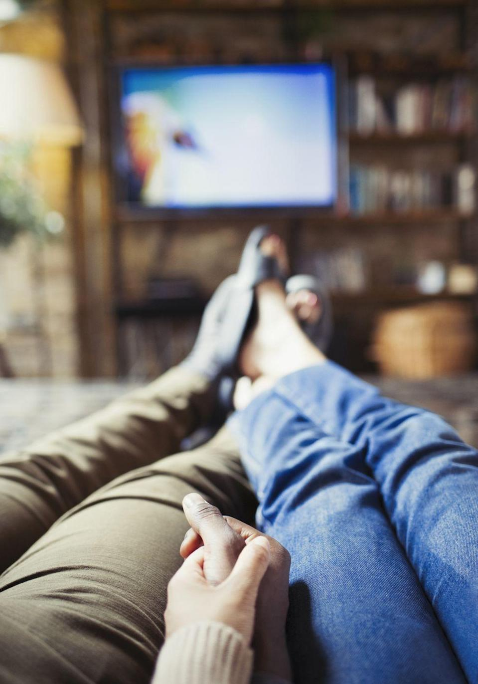 """<p>Cozy up on the couch with your significant other for a crowd-pleaser:</p><p><a href=""""http://www.netflix.com/browse/genre/1365"""" rel=""""nofollow noopener"""" target=""""_blank"""" data-ylk=""""slk:Action & Adventure: 1365"""" class=""""link rapid-noclick-resp"""">Action & Adventure: 1365</a></p><p><a href=""""http://www.netflix.com/browse/genre/43040"""" rel=""""nofollow noopener"""" target=""""_blank"""" data-ylk=""""slk:Action Comedies: 43040"""" class=""""link rapid-noclick-resp"""">Action Comedies: 43040</a></p><p><a href=""""http://www.netflix.com/browse/genre/3179"""" rel=""""nofollow noopener"""" target=""""_blank"""" data-ylk=""""slk:Biographical Dramas: 3179"""" class=""""link rapid-noclick-resp"""">Biographical Dramas: 3179</a></p> <p><a href=""""http://www.netflix.com/browse/genre/10757"""" rel=""""nofollow noopener"""" target=""""_blank"""" data-ylk=""""slk:British Movies: 10757"""" class=""""link rapid-noclick-resp"""">British Movies: 10757</a> </p><p><a href=""""http://www.netflix.com/browse/genre/52117"""" rel=""""nofollow noopener"""" target=""""_blank"""" data-ylk=""""slk:British TV Shows: 52117"""" class=""""link rapid-noclick-resp"""">British TV Shows: 52117</a></p><p><a href=""""http://www.netflix.com/browse/genre/5763"""" rel=""""nofollow noopener"""" target=""""_blank"""" data-ylk=""""slk:Dramas: 5763"""" class=""""link rapid-noclick-resp"""">Dramas: 5763</a></p><p><a href=""""http://www.netflix.com/browse/genre/4961"""" rel=""""nofollow noopener"""" target=""""_blank"""" data-ylk=""""slk:Dramas based on Books: 4961"""" class=""""link rapid-noclick-resp"""">Dramas based on Books: 4961</a> </p><p><a href=""""http://www.netflix.com/browse/genre/3653"""" rel=""""nofollow noopener"""" target=""""_blank"""" data-ylk=""""slk:Dramas based on Real Life: 3653"""" class=""""link rapid-noclick-resp"""">Dramas based on Real Life: 3653</a></p><p><a href=""""http://www.netflix.com/browse/genre/9994"""" rel=""""nofollow noopener"""" target=""""_blank"""" data-ylk=""""slk:Mysteries: 9994"""" class=""""link rapid-noclick-resp"""">Mysteries: 9994</a></p><p><a href=""""https://www.netflix.com/browse/genre/12123"""" rel=""""nofollow noopener"""" target=""""_blank"""" data-ylk=""""slk:Period Pieces: 12123"""" class=""""link rapid-noclick-resp"""">Peri"""