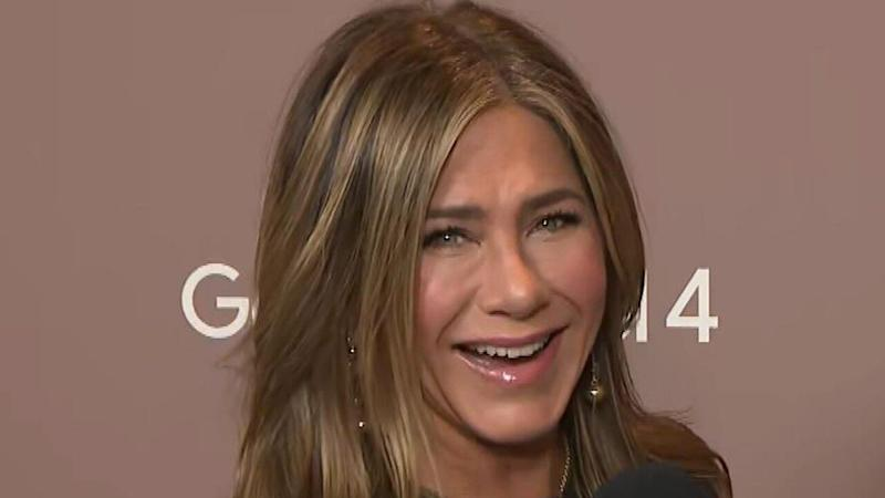 Jennifer Aniston Says She and 'Friends' Co-Stars Are Always Looking for Ways to Work Together (Exclusive)