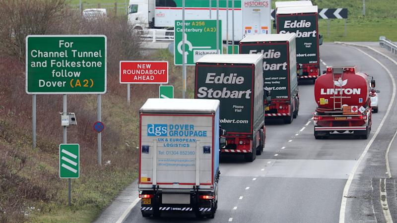 Hauliers fear 'significant disruption' at borders after Brexit transition period