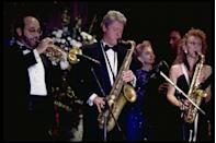 <p>During his campaign, Bill Clinton became known for his saxophone skills. As such, the newly-appointed President decided to join in with the band on the night of his inauguration. </p>