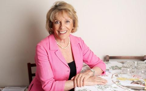 Dame Esther Rantzen, founder of The Silver Line, says the scale of the physical, financial and other types of abuse directed at the elderly is difficult to quantify - Credit: Clara Molden/The Telegraph