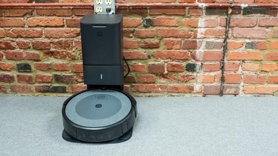 The iRobot Roomba i3+ is a more affordable version of our favorite robot vacuum, the iRobot's Roomba i7+, that has great dirt pickup and is self-emptying.