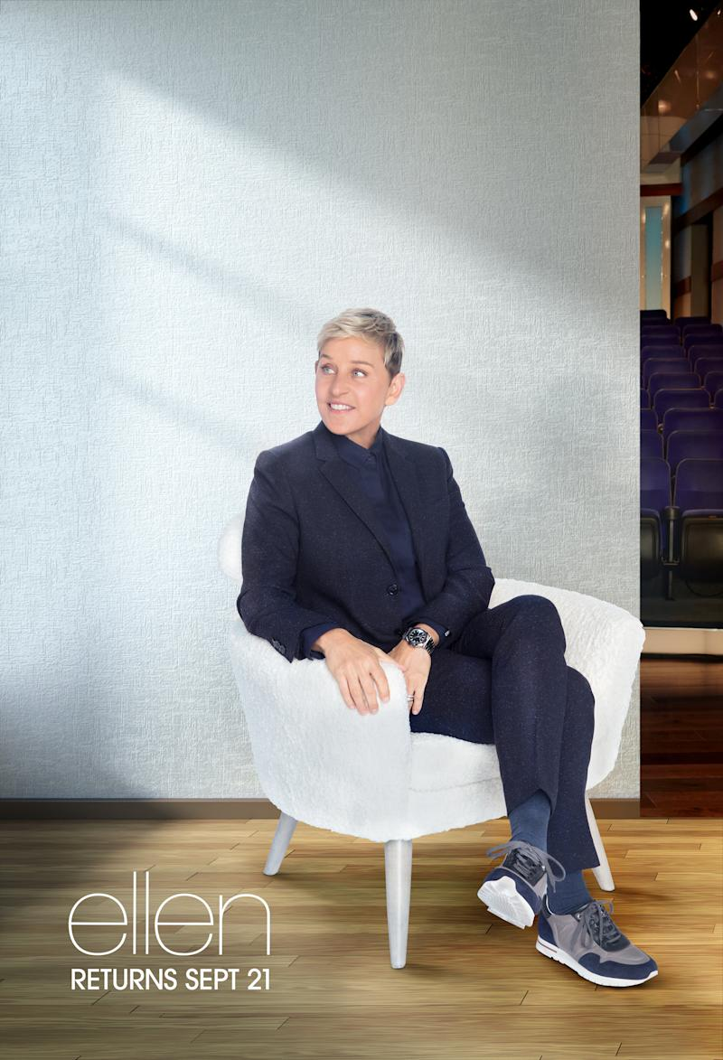 The Ellen DeGeneres Show key art for season 18. (Courtesy: The Ellen DeGeneres Show)