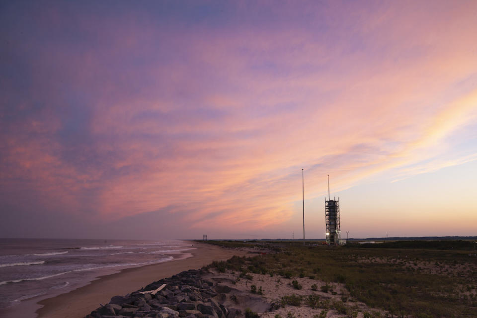 "A Minotaur 4 rocket is scheduled to liftoff today from NASA's Wallops Flight Facility on Wallops Island, Virginia. The mission will launch the secret NROL-129 payload made up of four top secret spy satellites into orbit for the U.S. Space Force. ""This will be our first U.S. Space Force mission and the first dedicated NRO mission from Wallops,"" said the Space Force's Lt. Col. Ryan Rose, chief of Launch Small Launch and Targets Division at the Space and Missile Systems Center, in an Air Force statement. ""We look forward to continuing to launch national priority satellites for our NRO partner."""
