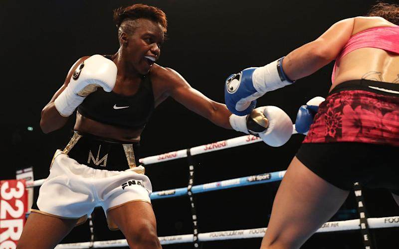 Nicola Adams won her first professional bout - Getty Images Europe