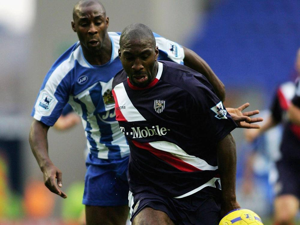 Darren Moore played for the Baggies before joining the club as a coach (Getty)