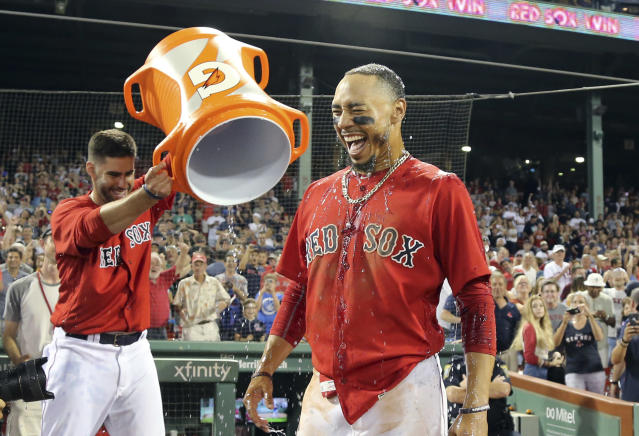 The Red Sox are still the best team in baseball. (AP Photo)