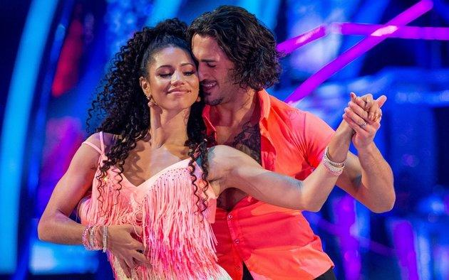 Vick Hope and her 'Strictly' dance partner Graziano Di Prima were voted off the show at the weekend.