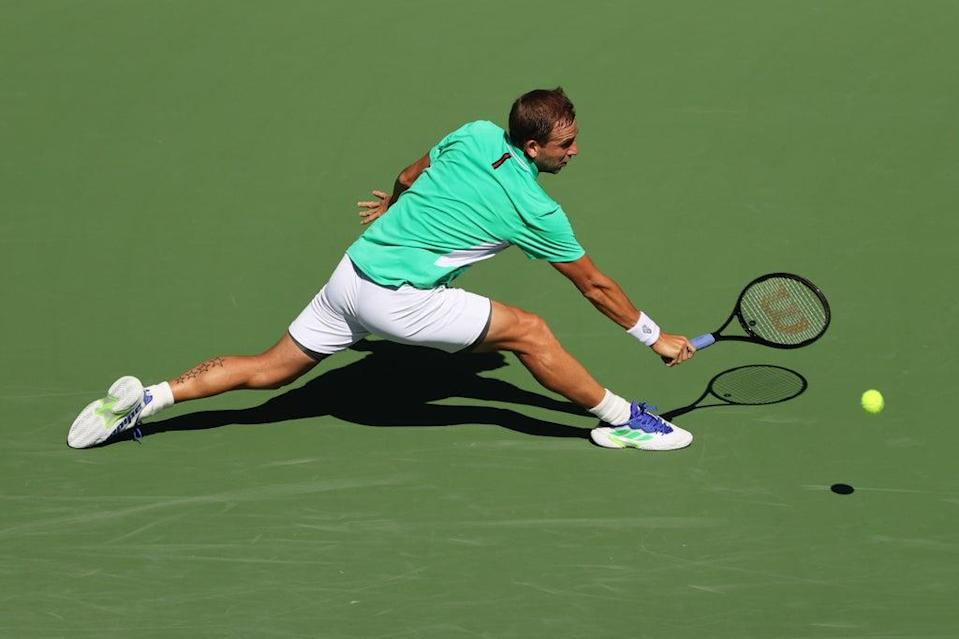 Dan Evans was knocked out of Indian Wells in the third round  (Getty Images)