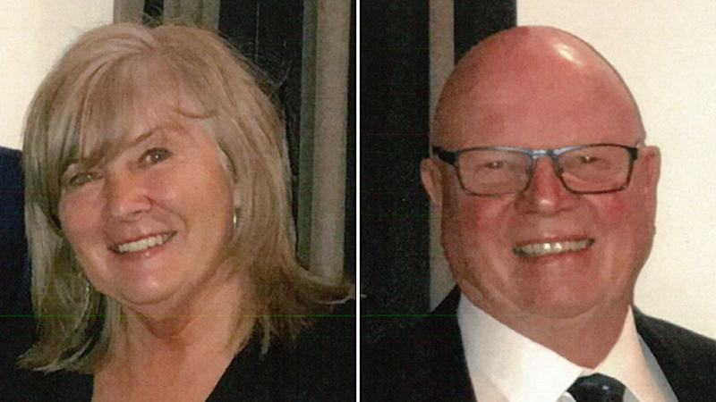 Susan Beesley (left) and her husband Guy Beesley (right) were found after they were missing for three nights in Victorian high country.