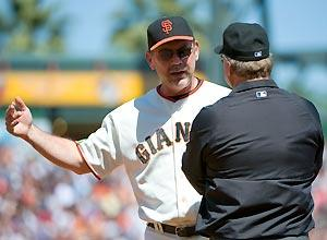 Bochy moves to the 'head' of his class
