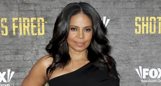 Sanaa Lathan just shaved her entire head bald. (Photo: Tibrina Hobson/Getty Images)