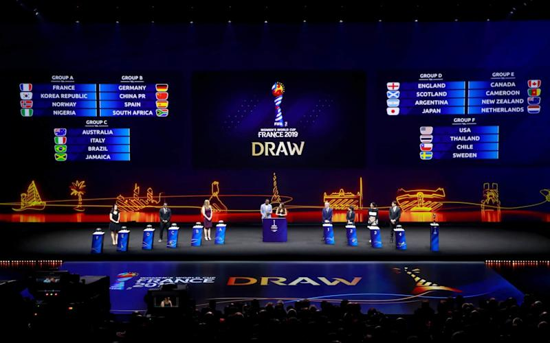 The draw for the Fifa Women's World Cup 2019 was made in December - REUTERS