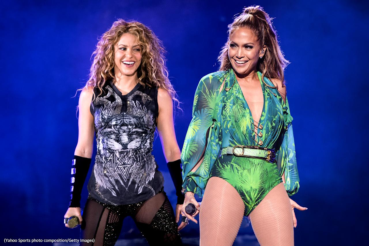 Jennifer Lopez and Shakira will headline the halftime show during Super Bowl LIV.