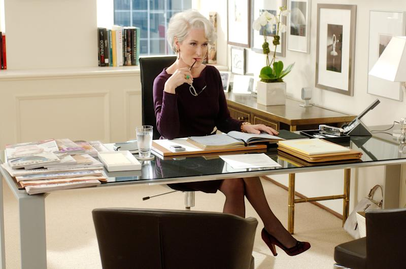 Roxy denies being a nightmare boss like The Devil Wears Prada's Miranda Priestly. Photo: Fox