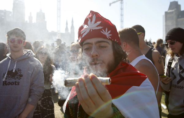 Canadian officials announce plans to introduce recreational marijuana laws.