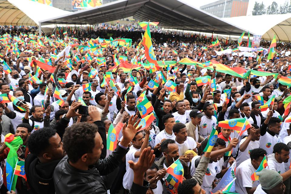 Ethiopia Defense Forces (Copyright 2021 The Associated Press. All rights reserved.)