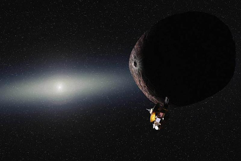 Us First Space Probe : It s official nasa pluto probe to fly by another object