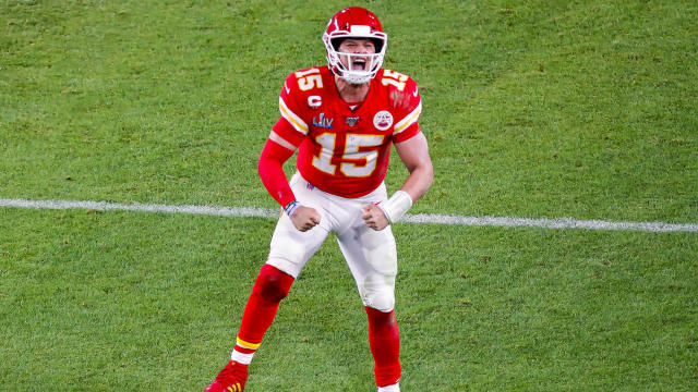 Patrick Mahomes is preparing for his contract extension, which could make him the highest-paid player in NFL history. (David Santiago/Miami Herald/Tribune News Service via Getty Images)