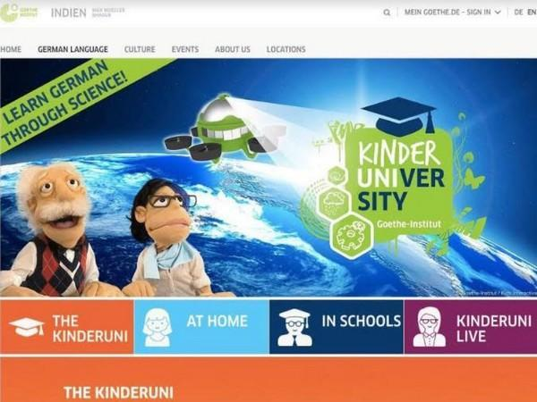 Goethe-Institut making learning fun with Digital Kinderuniversity