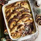 """<p>Yes, you can make a last-minute pud that everyone loves. This takes minutes to cook in the oven while you're eating the main course.</p><p><strong>Recipe: <a href=""""https://www.goodhousekeeping.com/uk/christmas/christmas-recipes/a551553/chocolate-orange-panettone-pudding/"""" rel=""""nofollow noopener"""" target=""""_blank"""" data-ylk=""""slk:Chocolate orange panettone pudding"""" class=""""link rapid-noclick-resp"""">Chocolate orange panettone pudding</a></strong></p>"""