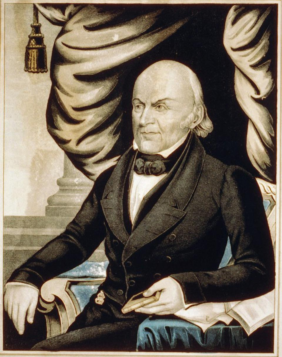 John Quincy Adams, sexto presidente de EEUU.(Getty Images)